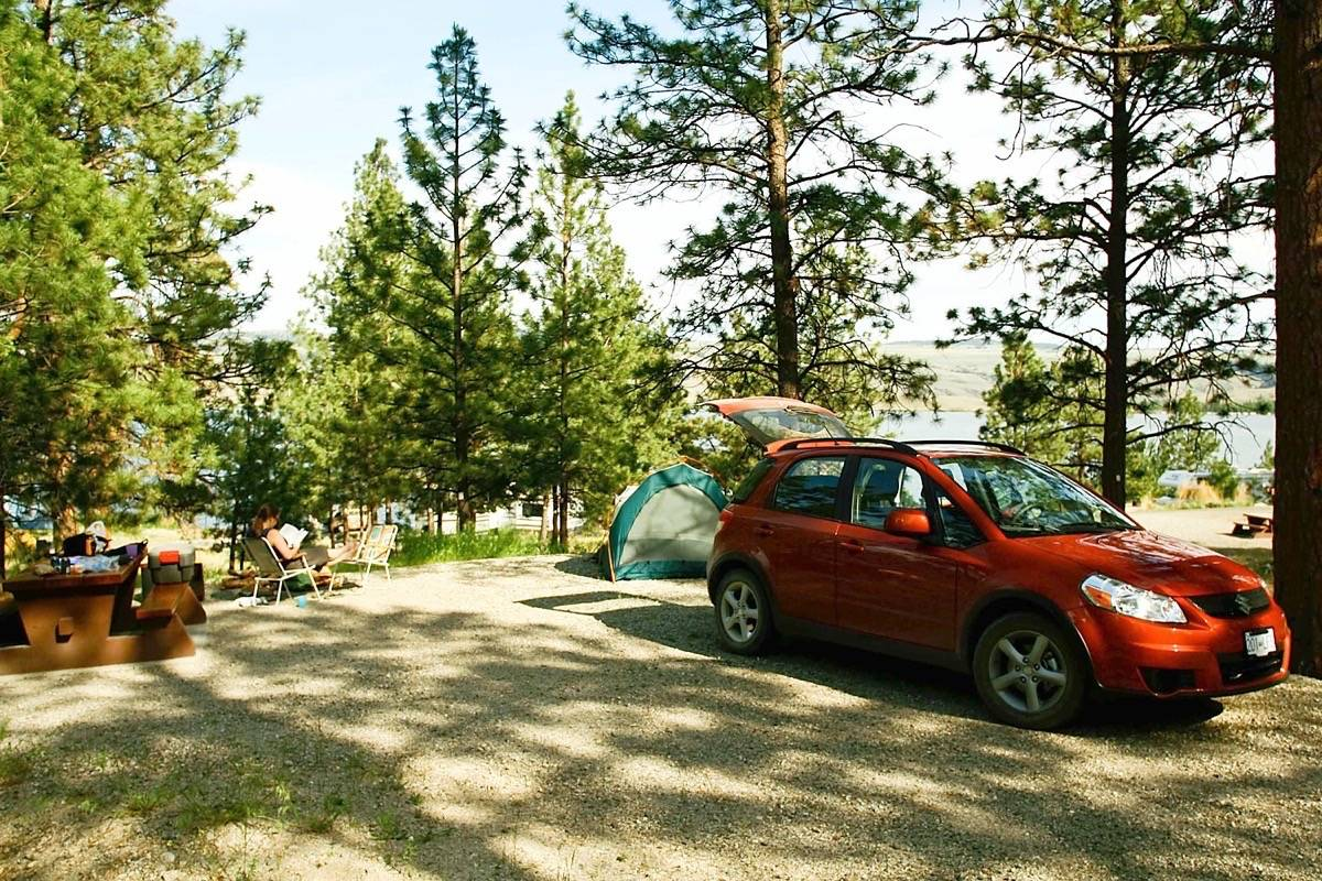 B.C. provincial park campsites and day-use facilities like washrooms were closed March 24. (Black Press files)