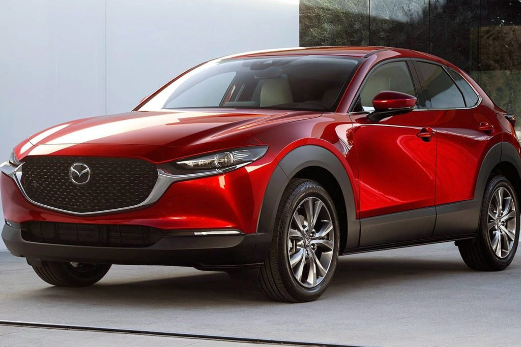 In terms of length, the CX-30 splits the difference between the CX-3 and CX-5, although in terms of cargo room and price, it's closer to the CX-3. Photo: Mazda