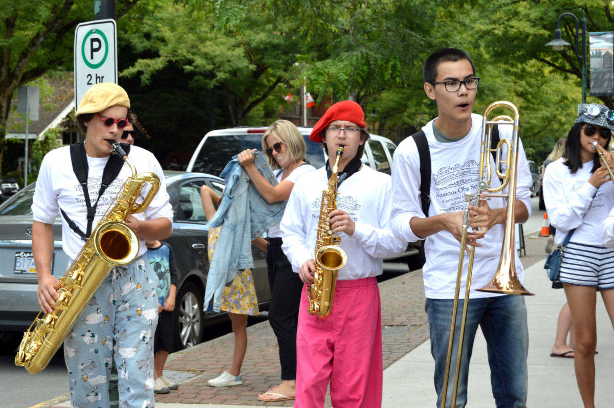 Musicians perform at the 2019 Fort Langley Jazz and Arts Festival. (Ryan Uytdewilligen/Langley Advance Times)