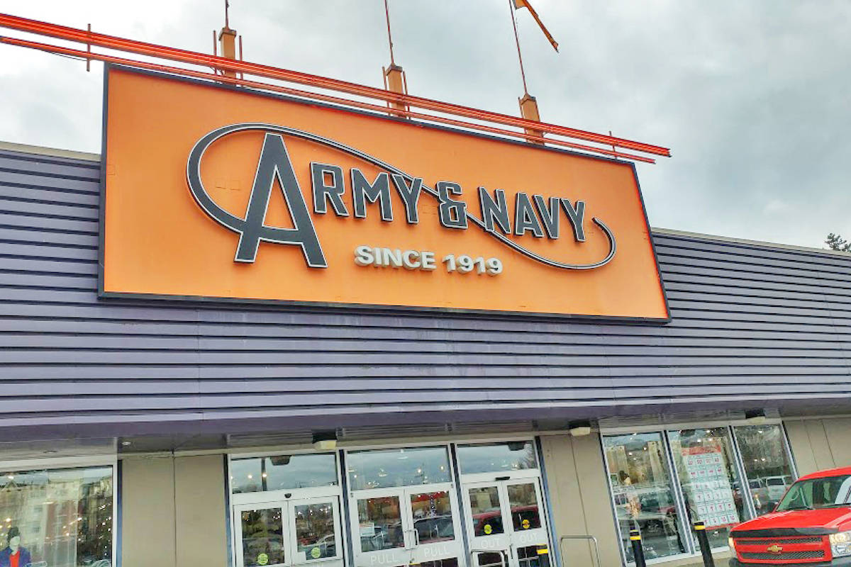 Langley's Army & Navy will never reopen