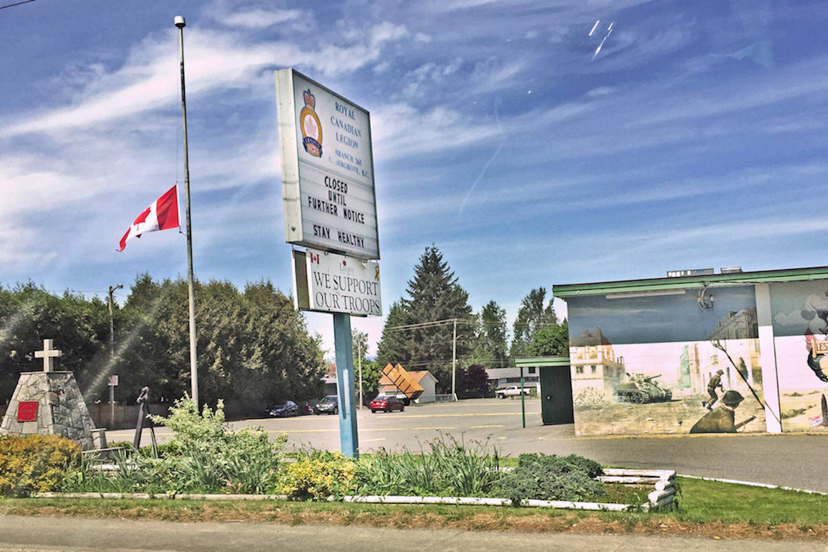 Aldergrove legion granted $1,000 to help stay afloat after closing due to COVID-19