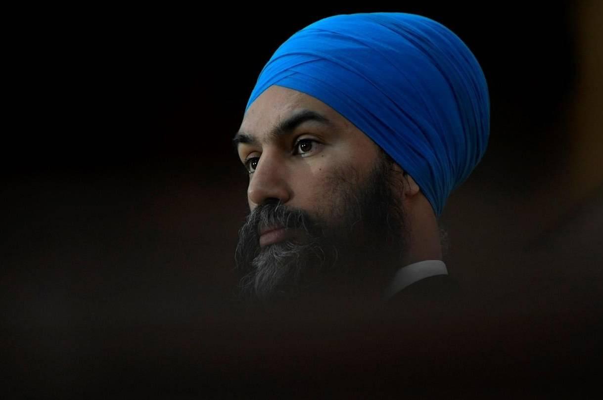 Federal NDP leader Jagmeet Singh. (The Canadian Press)