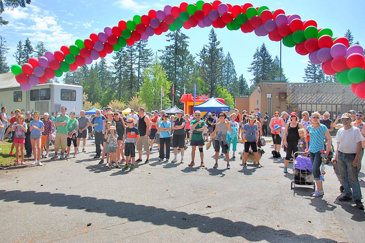 Langley Township and City jointly organize the annual Langley Walk in early May. This year's walk is going virtual. (Langley Advance Times files)