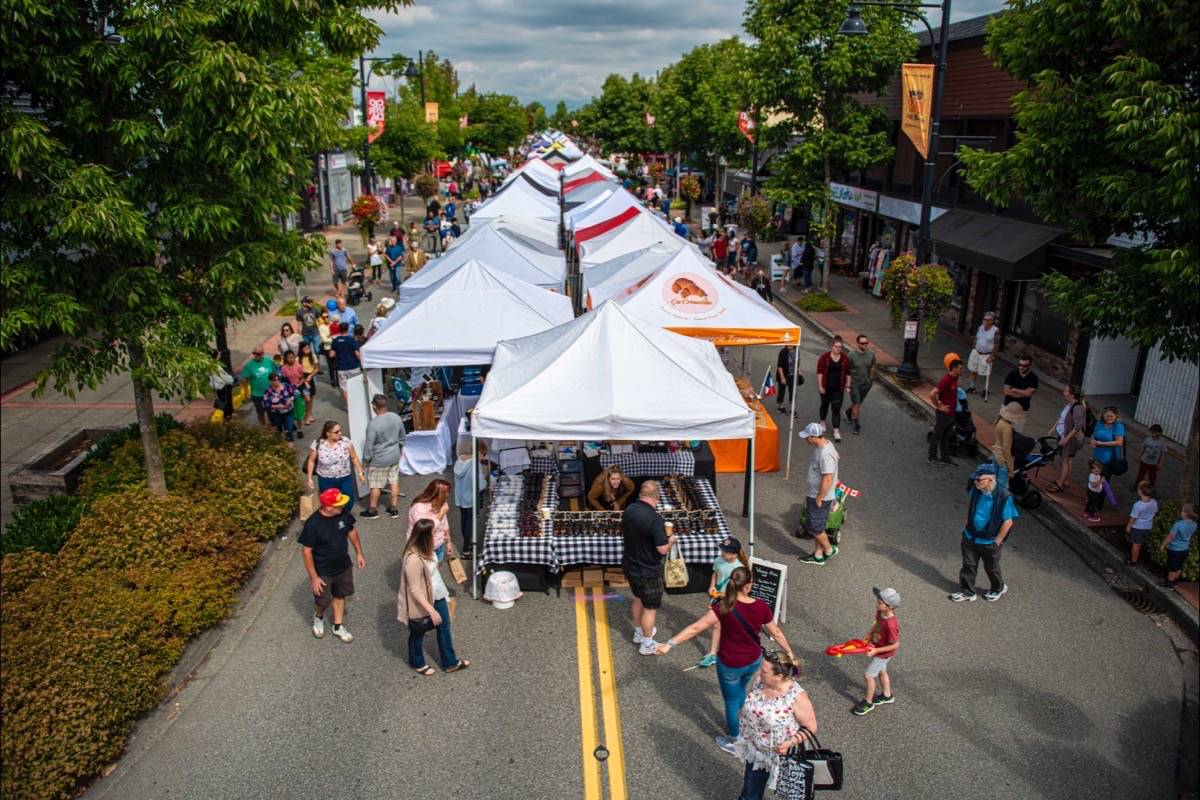 All event days for Cloverdale Market Days (seen here in 2019) have been cancelled for the rest of 2020. (Ryan Alexander McLeod / Cloverdale Market Days)