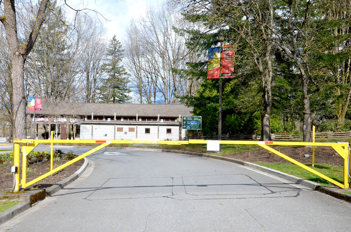 Fort Langley National Historic Site, operated by Parks Canada, will be closed until at least June 1 due to COVID-19. (Ryan Uytdewilligen/Langley Advance Times)
