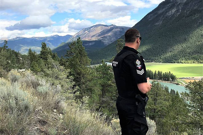 The Conservation Officer Service (COS) will be patrolling recreation sites across the province over the long weekend to ensure compliance with social distancing and day-use-only regulations, May 16, 2020. (COS photo)