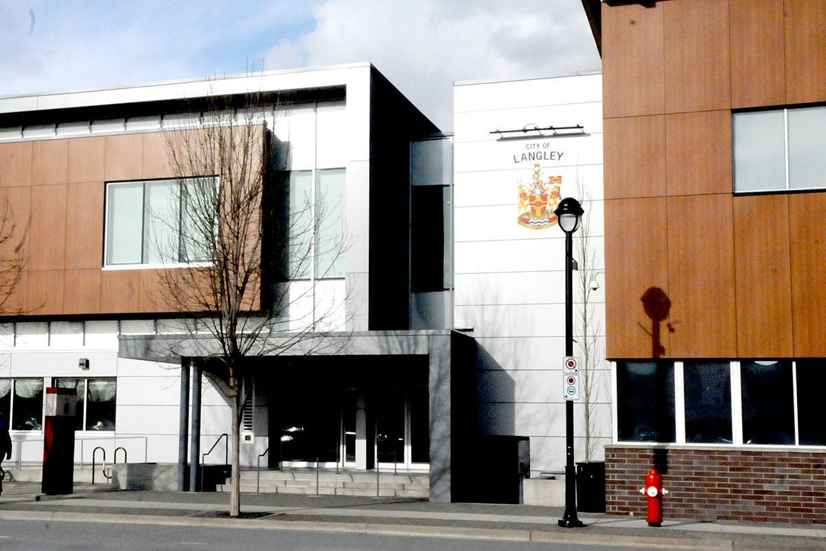 Timms Community Centre closed on Tuesday, March 17 due to coronavirus concerns; now city hall will restrict access to public. (Ryan Uytdewilligen/Langley Advance Times)