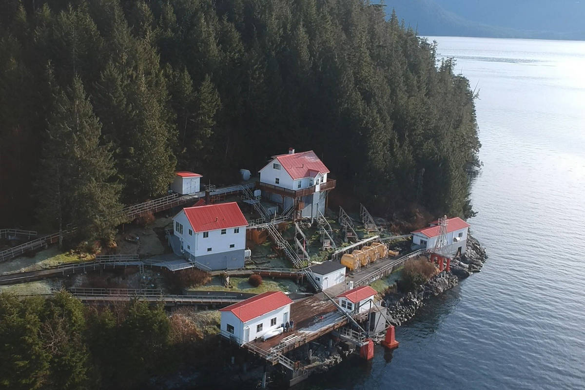 Boat Bluff lighthouse is seen in the Regional District of Kitimat-Stikine on B.C.'s northern coast in this undated image. As British Columbia begins to reopen and reduce social distancing guidelines, life hasn't changed much for Spencer Wilson. Wilson is one of the roughly 54 lighthouse keepers working across B.C.'s 27 manned lighthouses, stretching from the southern tip of Vancouver Island up to near the Alaska border. THE CANADIAN PRESS/HO - Spencer Wilson