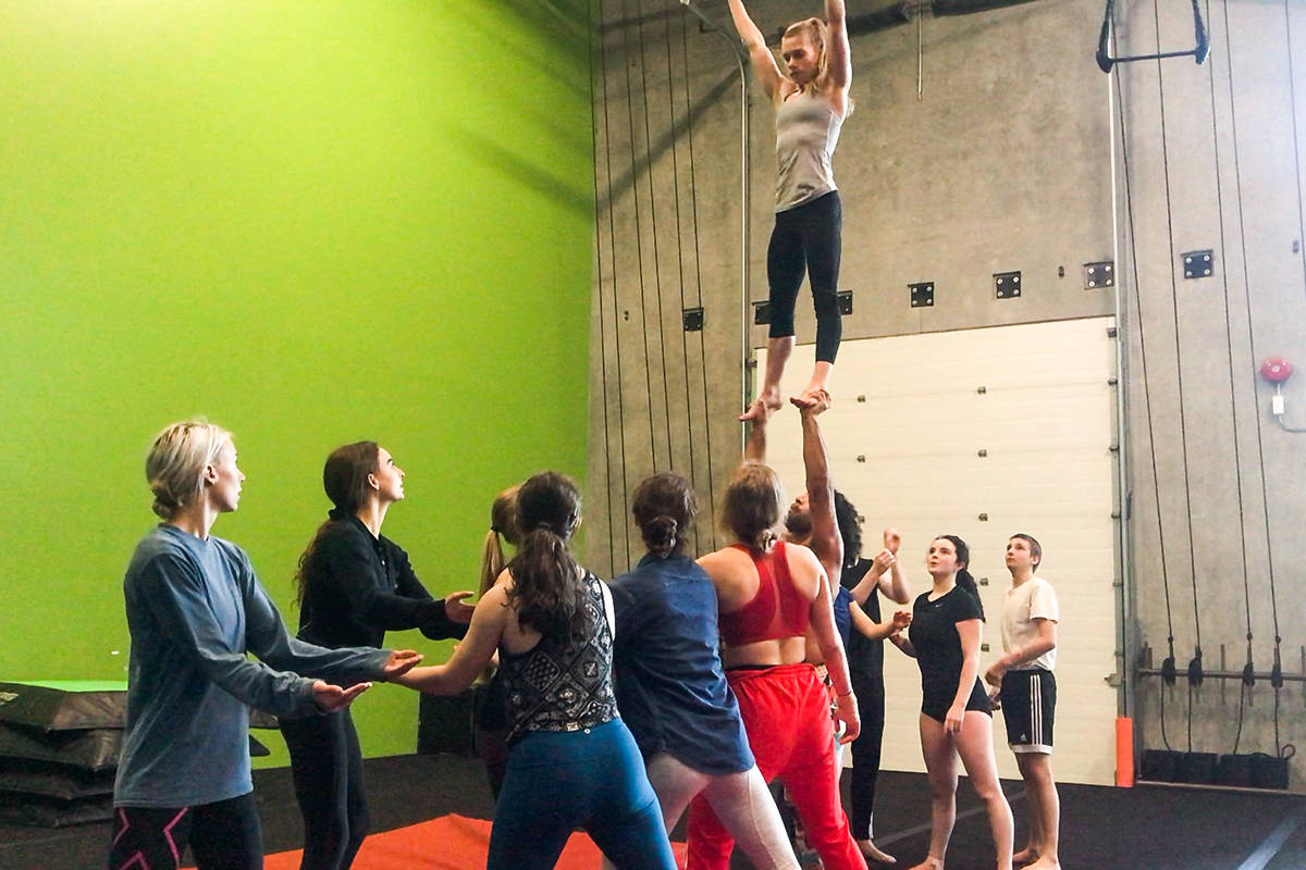 Langley's Circus Lab is seeking financial support to get through the COVID-19 pandemic (courtesy Circus Lab).