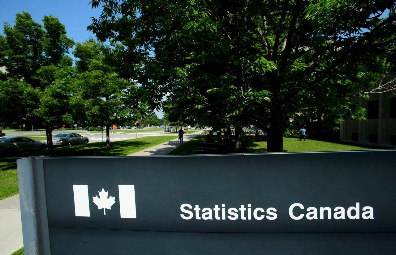 Statistics Canada building and signs are pictured in Ottawa on Wednesday, July 3, 2019. Statistics Canada is expected to report that the consumer price index decreased in April, the first full month the economy was gripped by the COVID-19 pandemic. THE CANADIAN PRESS/Sean Kilpatrick