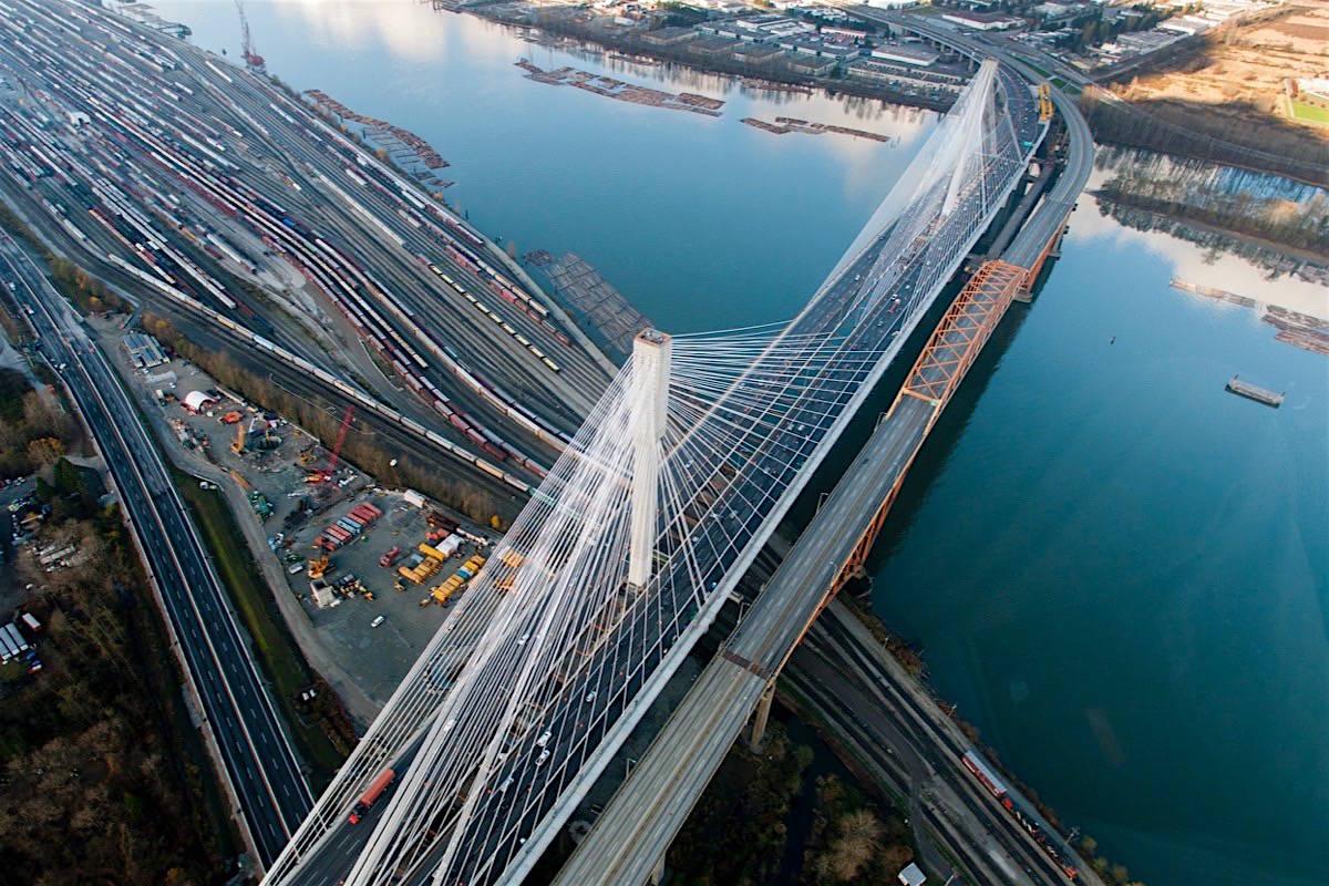 The Port Mann Bridge. (TI Corp)