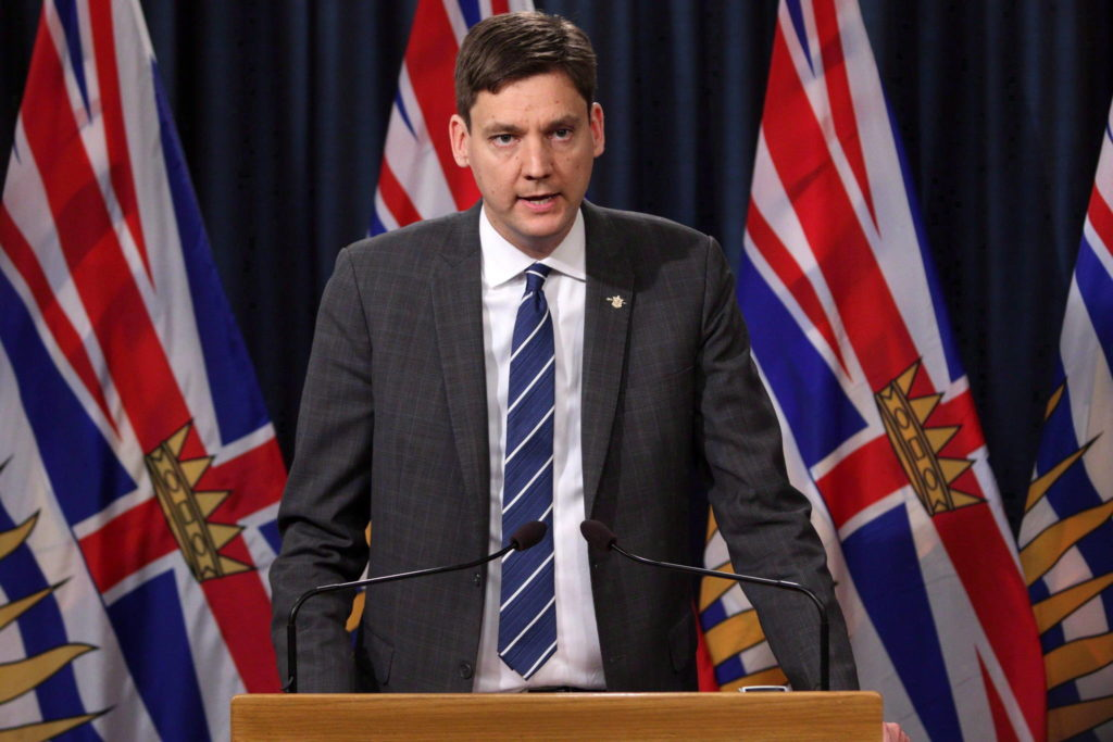 B.C. Attorney General David Eby. (Photo: THE CANADIAN PRESS/Chad Hipolito)