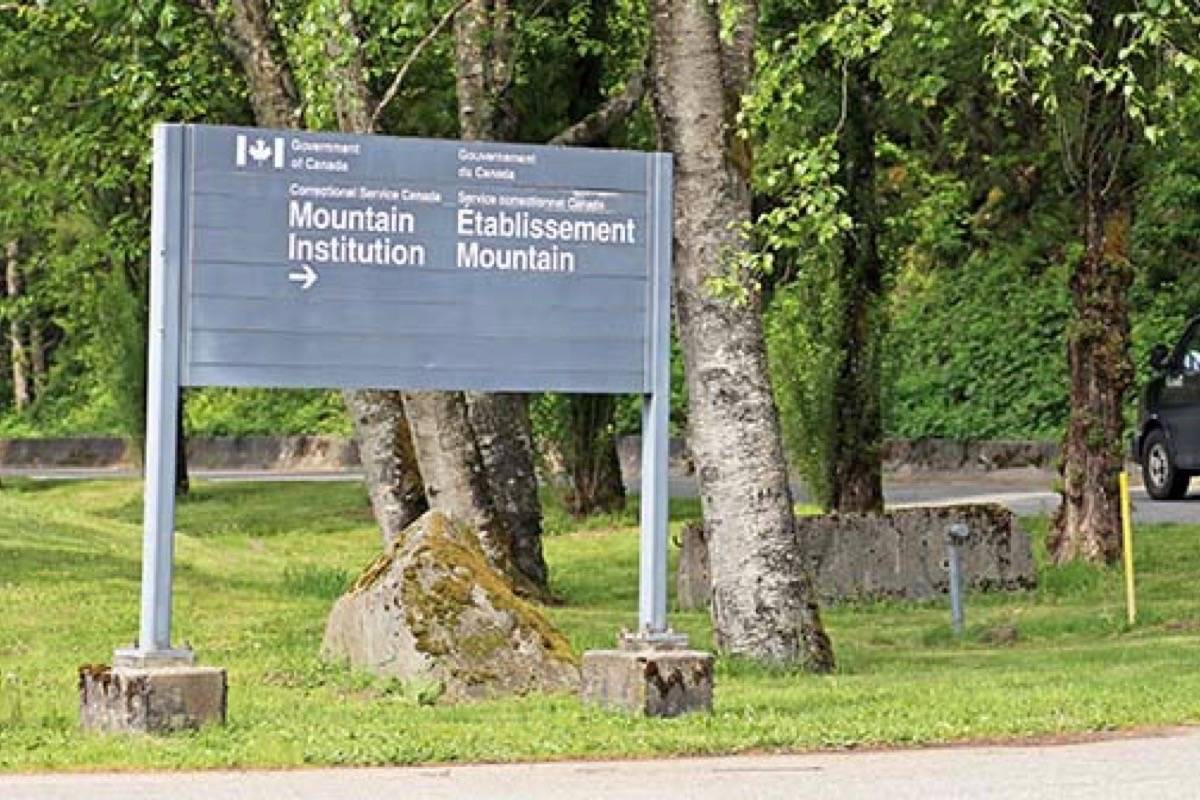 An inmate at Mountain Institution in Agassiz has tested positive for COVID-19.