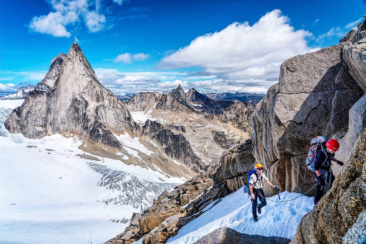 Climbing in Bugaboo Provincial Park in 2019 (File) British Columbia.