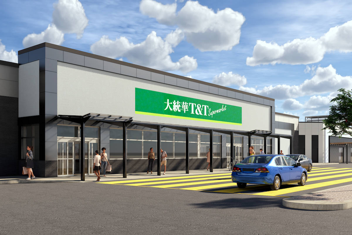 Langley's first T&T Supermarket coming to north end of Willowbrook mall