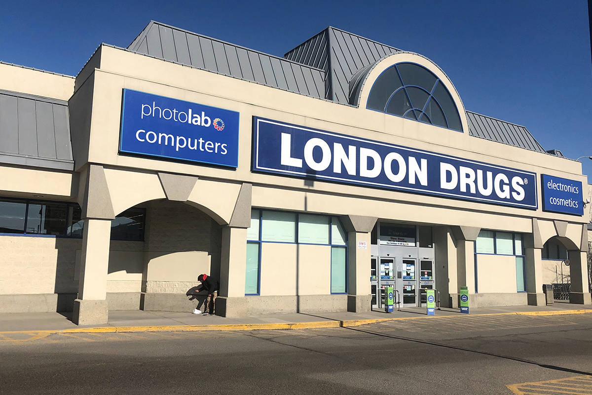 London Drugs. (Black Press photo)