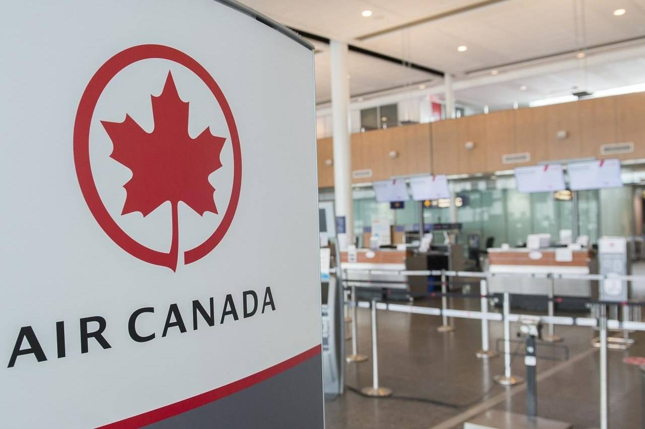 Air Canada said it has refunded nearly $1 billion to customers since Jan. 1, 2020 (The Canadian Press)