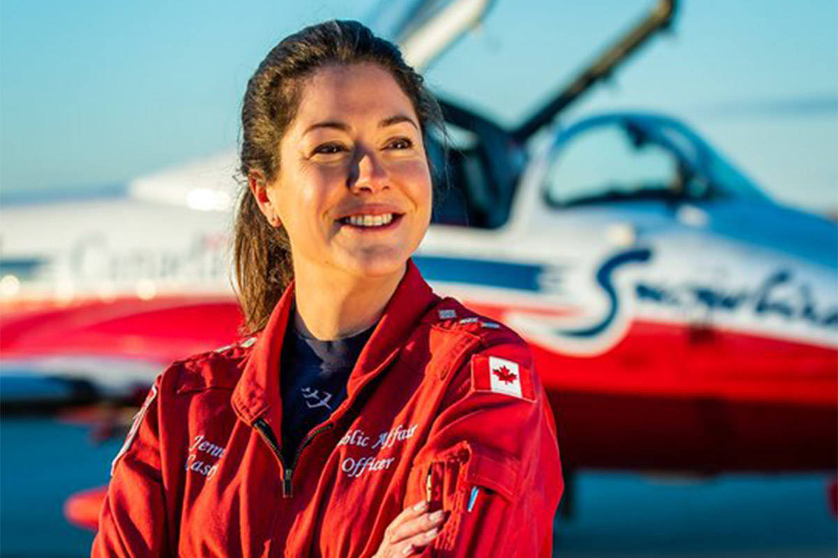 VIDEO: Procession to honour Snowbirds Capt. Jennifer Casey comes to Halifax