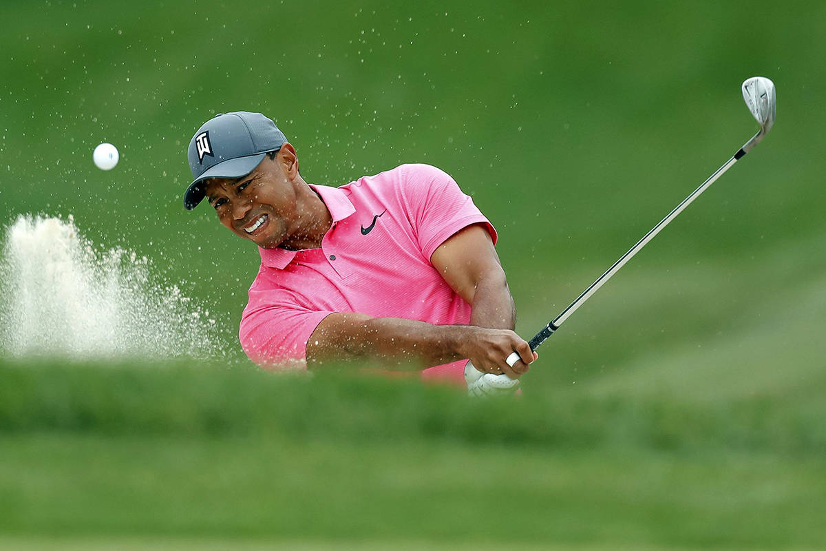 Tiger Woods. (AP File Photo/Mike Carlson)