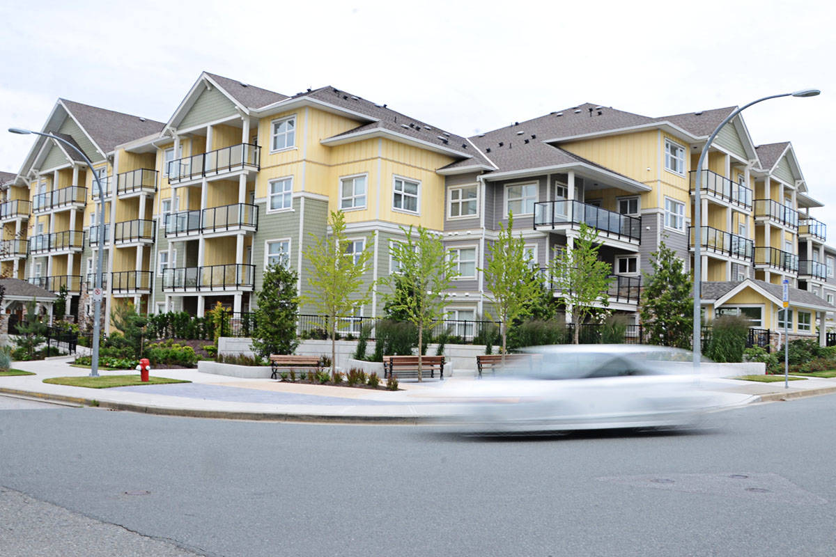 Three local businesspeople who invested in Murrayville House have won a judgment against the company that built the complex. (Langley Advance Times files)