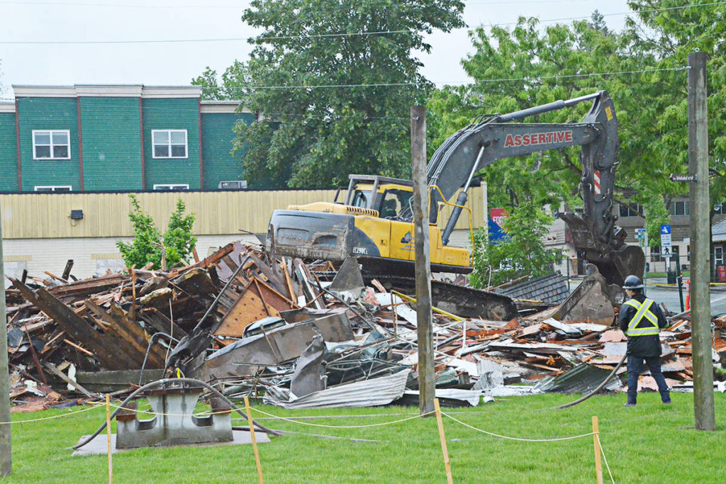 Buildings demolished in Fort Langley core - Langley Advance Times