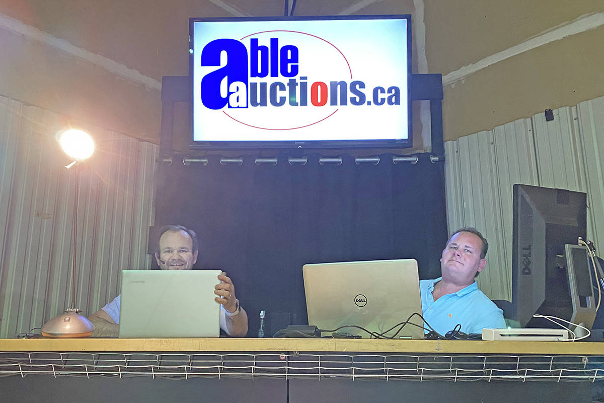 A virtual auction by Langley-based Able Auctions raised $60,000 for various charities (Able Auctions/special to Langley Advance Tines)