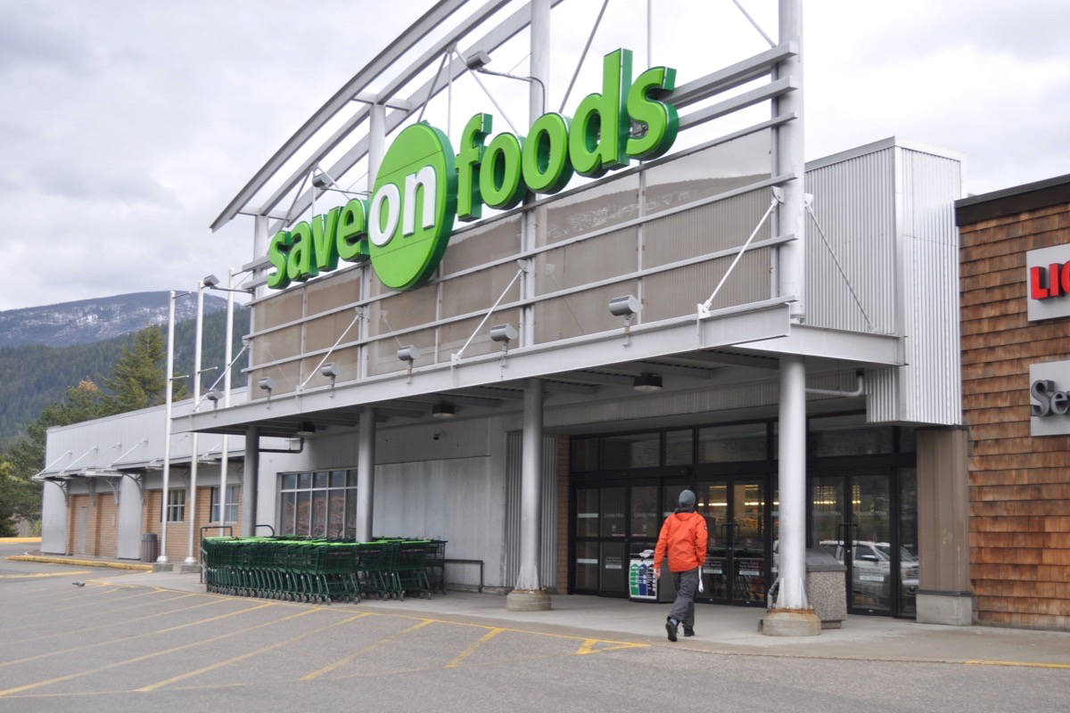 Employees at Nelson's Save-On-Foods and other grocery stores are working in stressful conditions during the pandemic. Photo: Tyler Harper