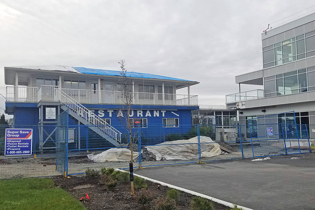 Old and new: Adrian's at the Airport restaurant (left) is located very close to its new premises at the Langley airport (Dan Ferguson/Langley Advance Times)