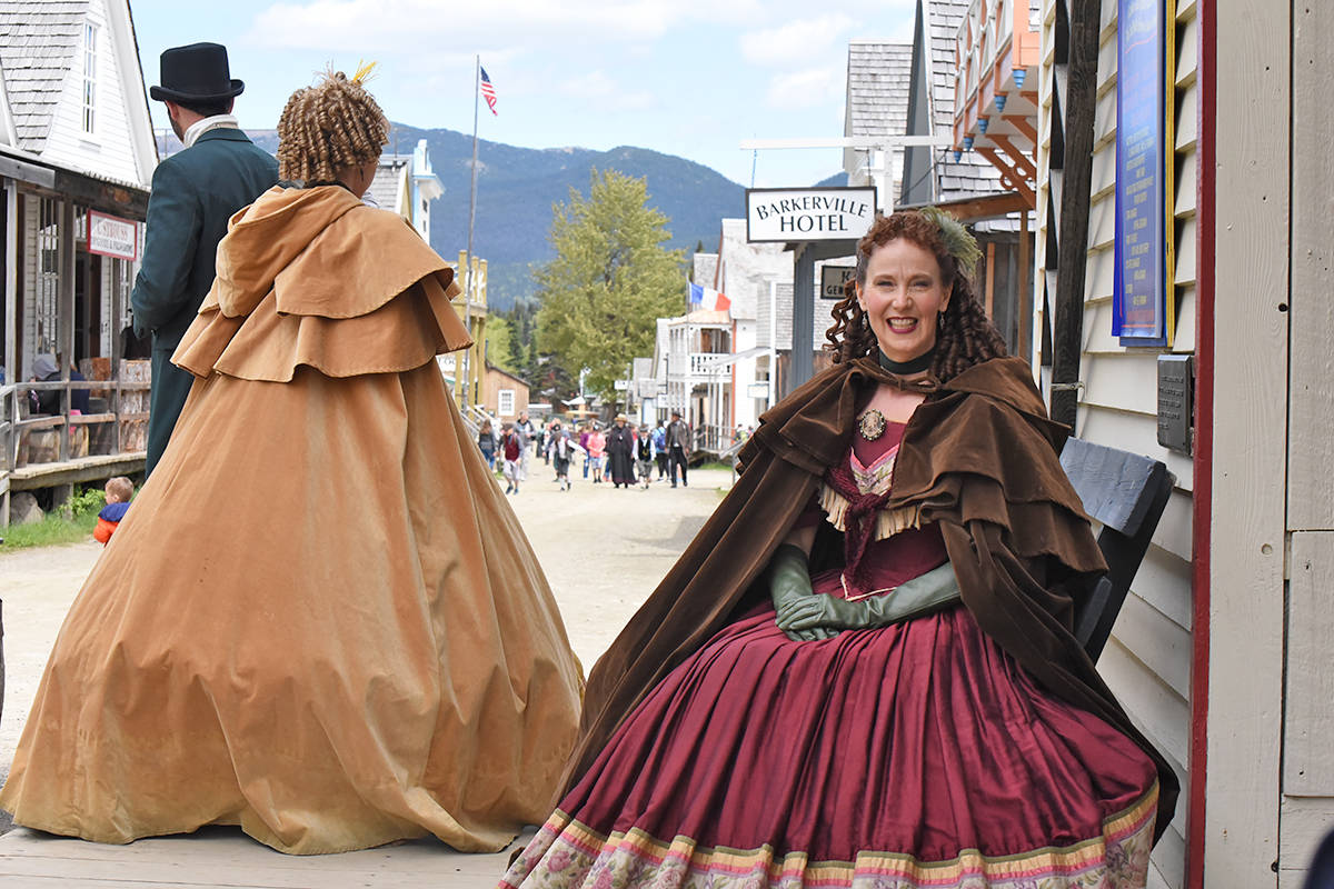 The Theatre Royal is one of several locations being offered for micro-wedding ceremonies this summer in Barkerville. (Angie Mindus photo - Williams Lake Tribune)