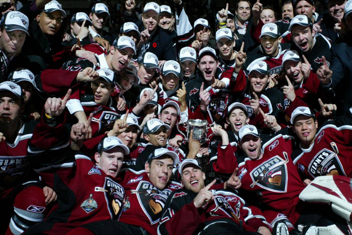 Vancouver Giants to stream 2007 Memorial Cup championship game Saturday night