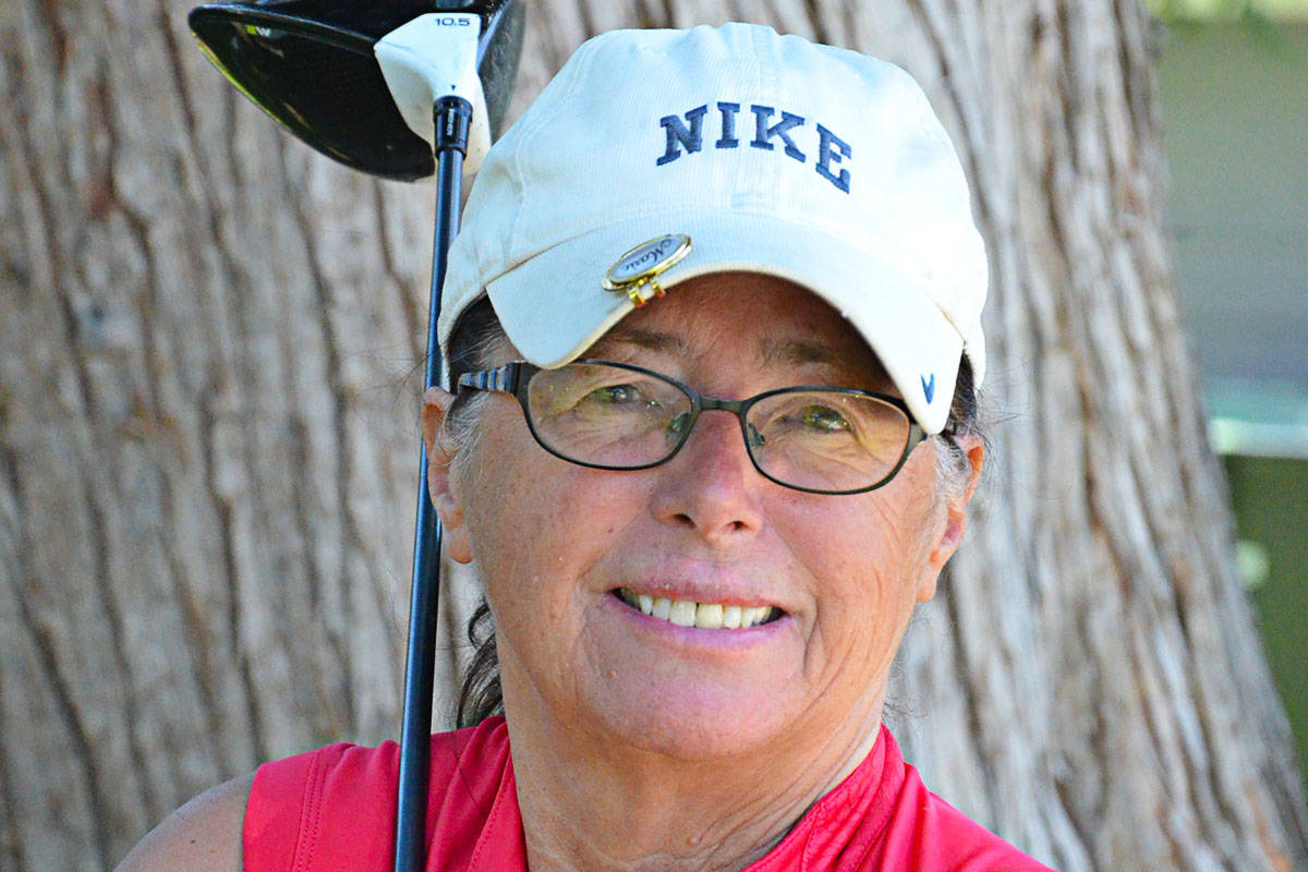 Marie Robinson is president of Langley Senior Ladies Golf which has resumed play for the season which runs until mid to late September. (Heather Colpitts/Langley Advance Times)