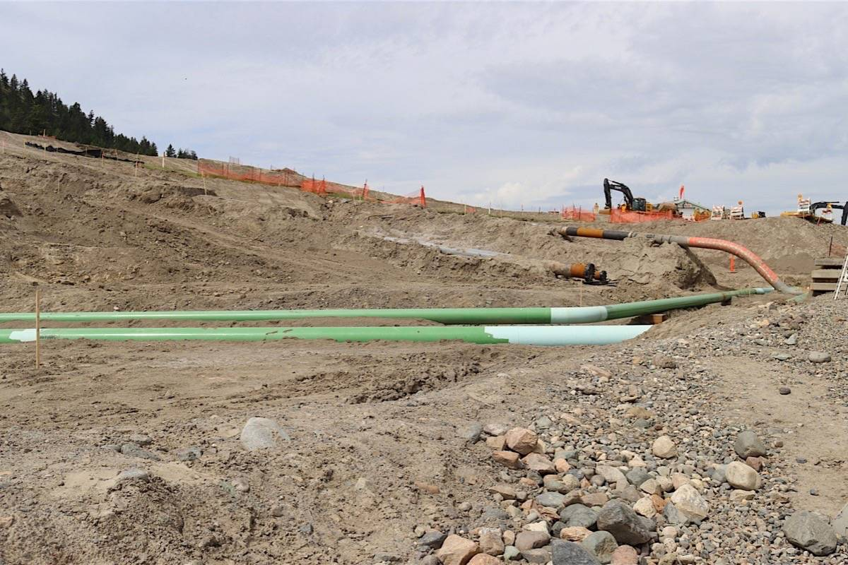 Kamloops terminal of the Trans Mountain pipeline expansion project, June 1, 2020. (Trans Mountain)