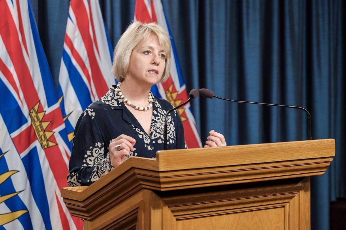 B.C. provincial health officer Dr. Bonnie Henry updates COVID-19 efforts, June 1, 2020. (B.C. government)