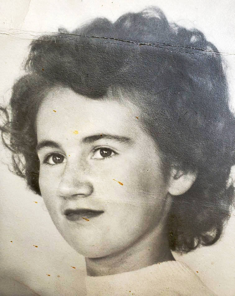Langley resident Verna Clarke as a young girl. (Lori Humphrey/Special to the Advance Times)