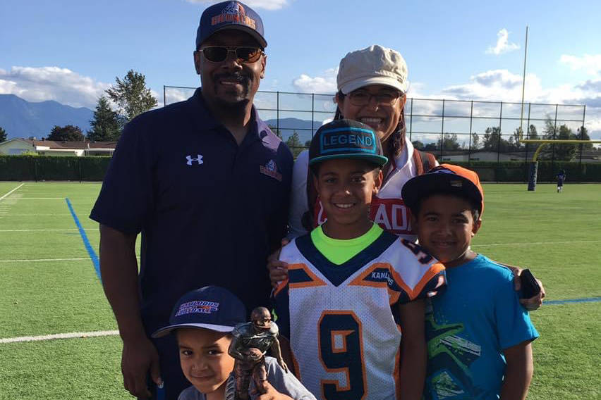 Dionte Jelks, his wife Elizabeth, and their sons Noe, Jeremy, and Kian (Submitted photo)