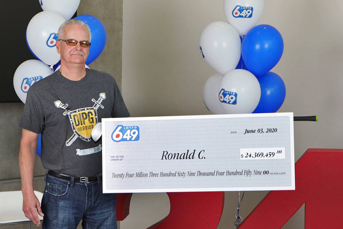 Aldergrove 60-year-old can 'finally afford to retire' after winning $24M in lottery