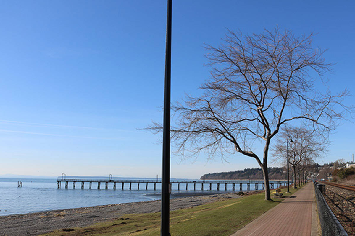 Council is considering measures that would allow the consumption of alcohol on the White Rock Promenade as a means of boosting business for restaurants affected by the COVID-19 pandemic. (Tracy Holmes/ Black Press Media file photo)