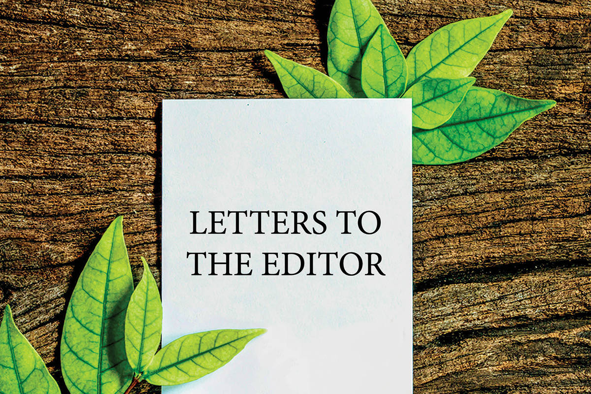 One letter writer would like society to rethink fossil fuels.