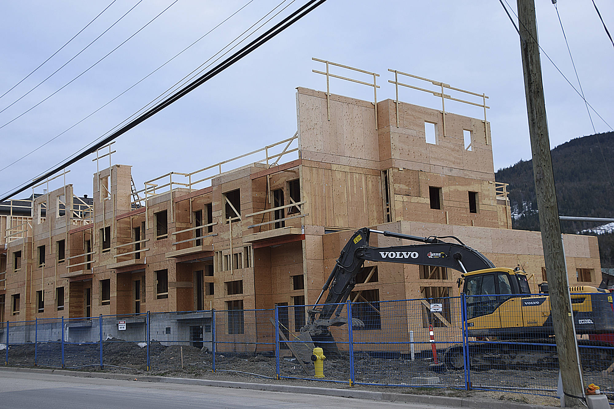 The group that represents 35,000 unionized construction workers is calling for improved health and safety in the residential construction sector. (Black Press Media files)