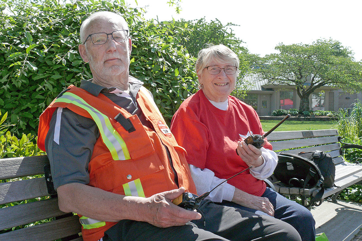 Don and Pat Dangelmaier, the 2019 Seniors Of The Year, will continue on in their role for 2020 due to COVID-19. (Langley Advance Times files)