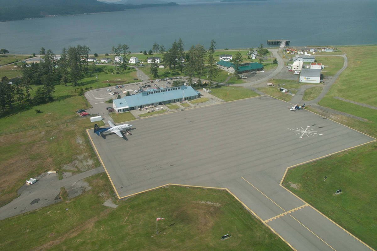 FILE - The Sandspit Airport is pictured in 2008. North Coast Regional District Area E Director Evan Putterill took to social media on Thursday, June 4, 2020 to call for a clearly communicated plan to ease Haida Gwaii's COVID-19 travel restrictions.