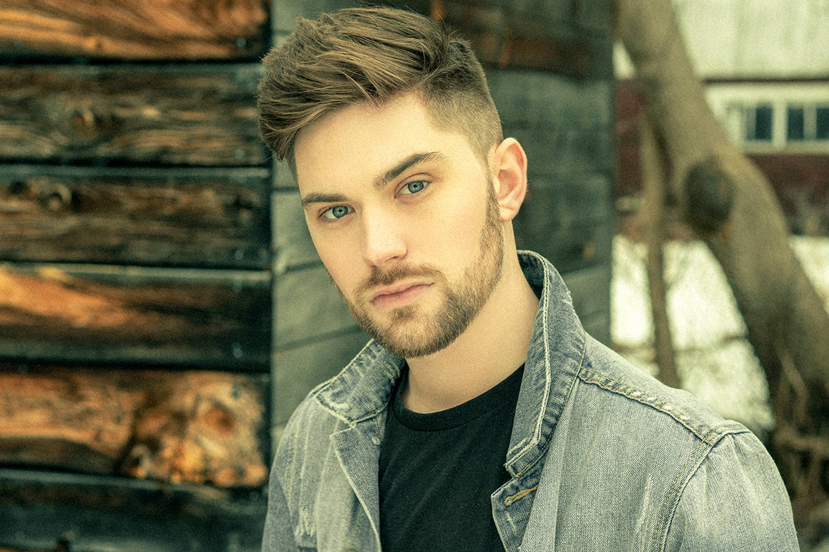 """Country Music Association of Ontario Rising Star nominee Dustin Bird was one of the voices on """"Together, We're Strong."""" (Curtis Bird/Special to the Langley Advance Times)"""