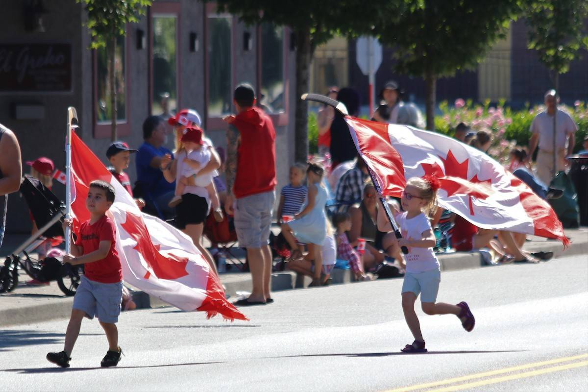 Aldergrove's Canada Day parade in 2019. (Art Bandeniek/Special to the Langley Advance Times)