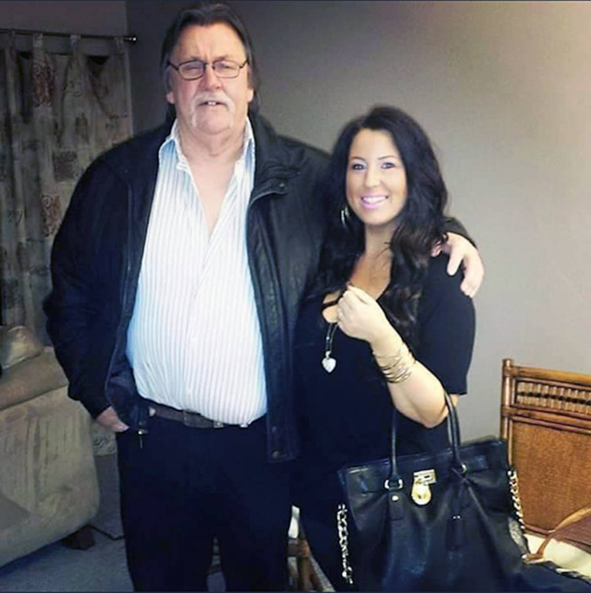 Jim Fitzpatrick and his daughter Leanna were left homeless by the June 6 fire that damaged the townhouse they were renting (courtesy Leanna Fitzpatrick)
