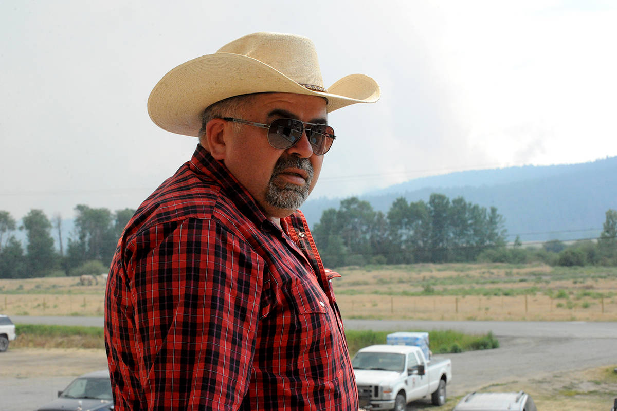 Chief Joe Alphonse, pictured outside the Tletinqox'in band office during the 2017 wildfires, has fought his own battles with awareness surrounding Indigenous issues within the RCMP. Angie Mindus/Williams Lake Tribune file photo