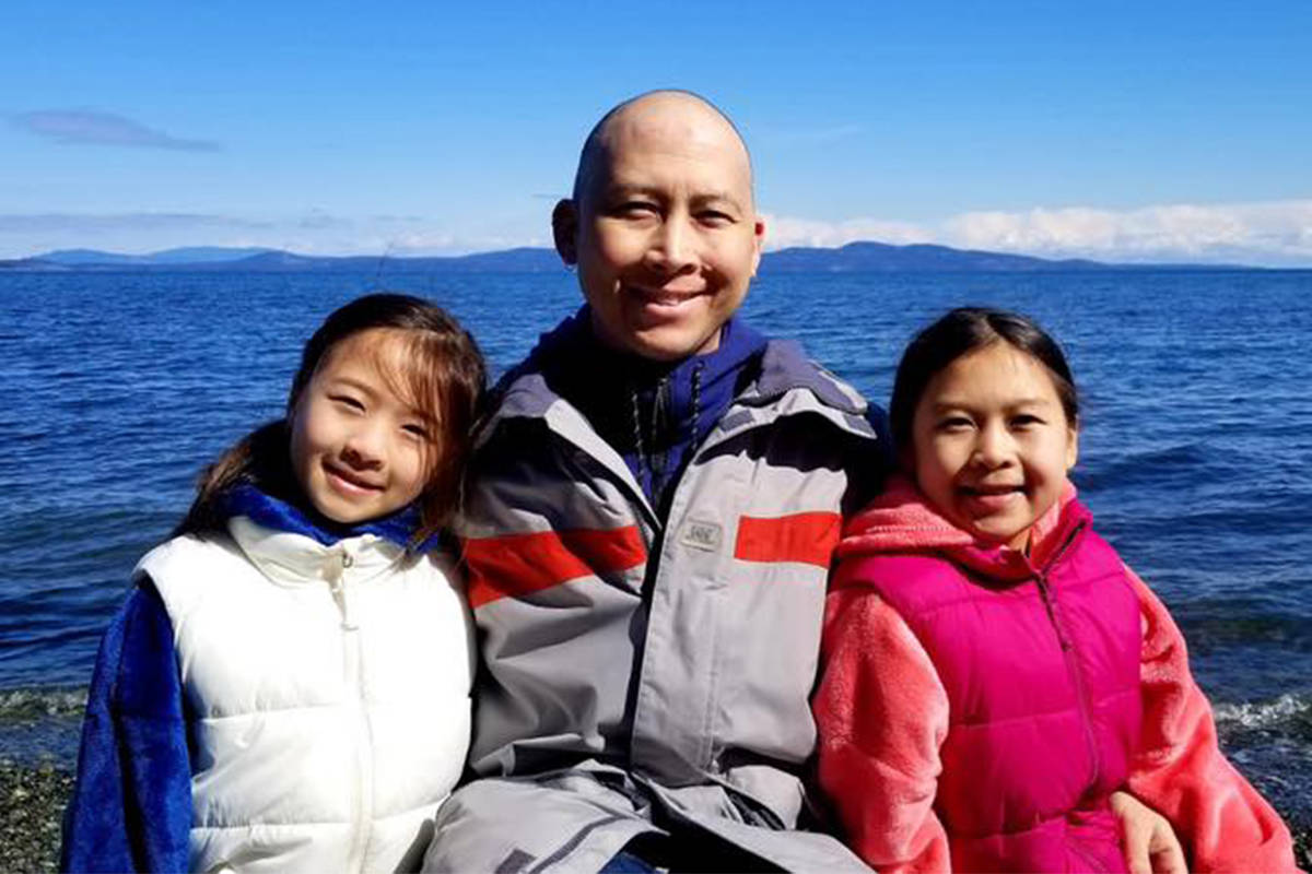 Jeremy Chow's priority was taking care of his family, says a close friend. The Saanich man died on May 30 from acute myeloid leukemia. The Chow family fought for more than two years to find a stem cell donor for Jeremy, who was of mixed Asian and European genetics. (Facebook/Match4Jeremy)