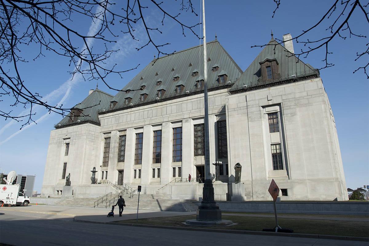 The Supreme Court of Canada in Ottawa. (Adrian Wyld/CP)