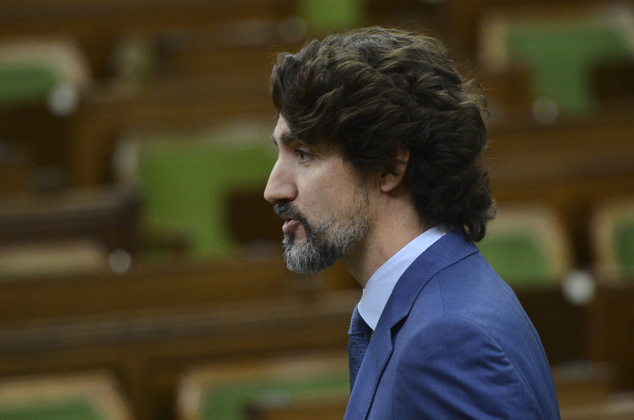 Prime Minister Justin Trudeau speaks during the special committee on the COVID-19 pandemic in the House of Commons on Parliament Hill amid the COVID-19 pandemic in Ottawa on Wednesday, June 10, 2020. THE CANADIAN PRESS/Sean Kilpatrick