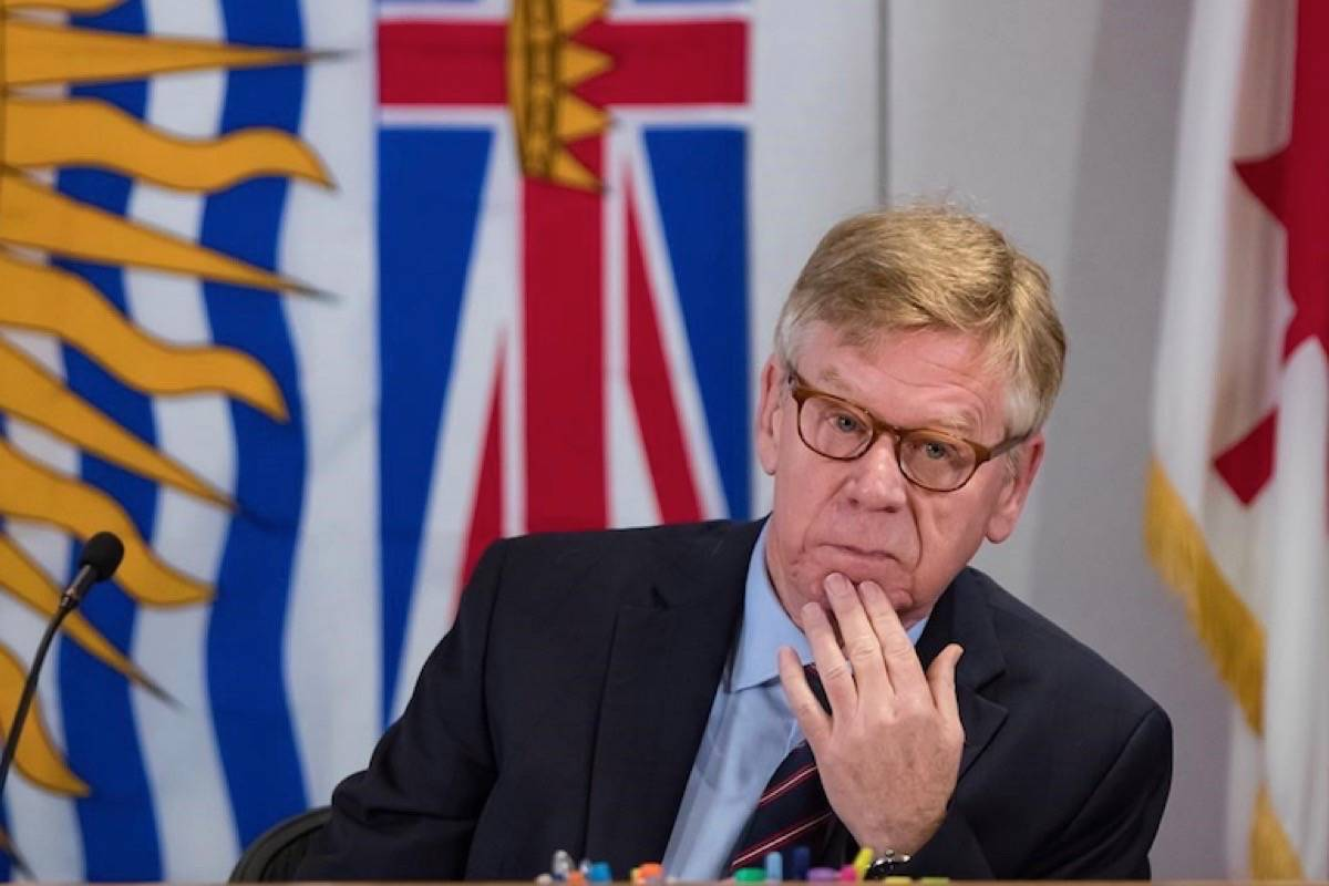 Commissioner Austin Cullen will hear from witnesses during an inquiry dedicated to an overview of money laundering and regulatory models, in a May 25, 2020 story. (Photo by THE CANADIAN PRESS)