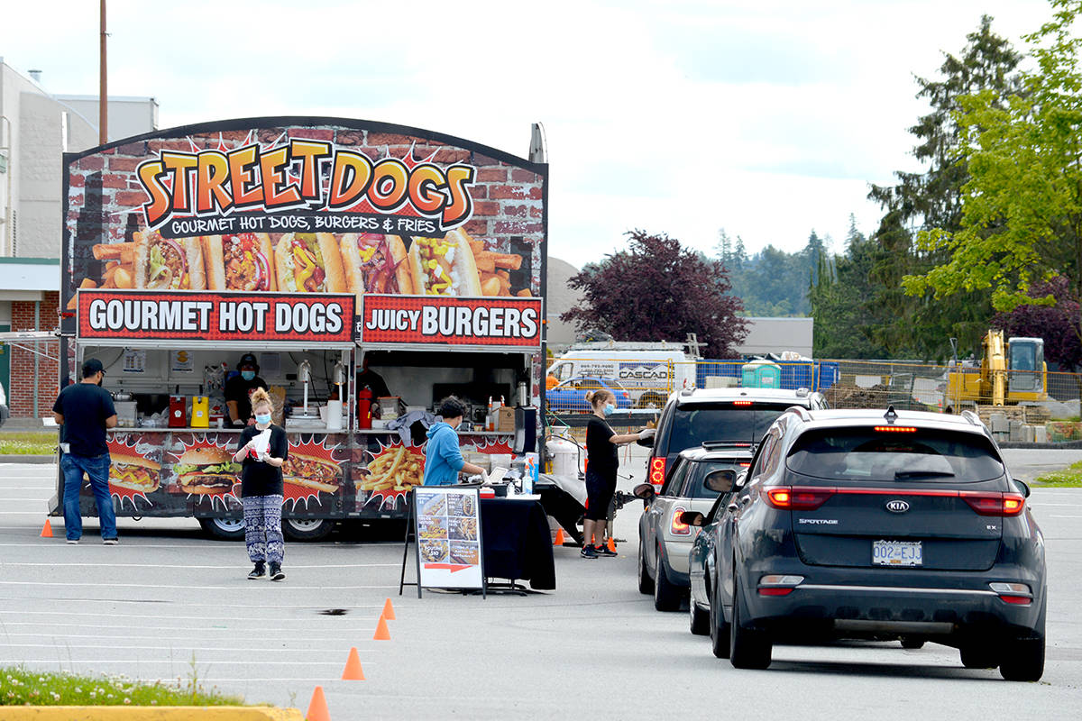VIDEO: Langley puts the word 'truck' in Greater Vancouver Food Truck Festival